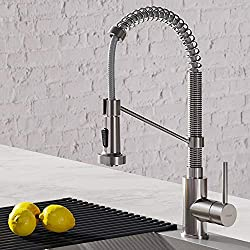 kraus pull down kitchen faucet