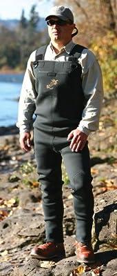 Caddis Men's Green Neoprene Stocking Foot Wader