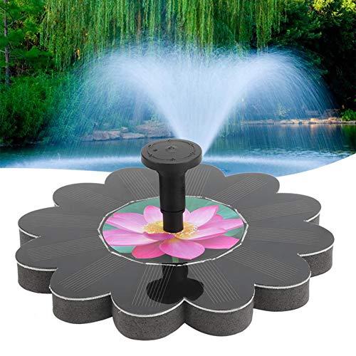 Solarbetriebene Teichbrunnen Solarteichpumpe 6V 1.4W Leistungsstärkeres Schwimmendes Springbrunnenpumpen-Kit Für Bird Bath Pond Pull Garden / 2PCS,B1