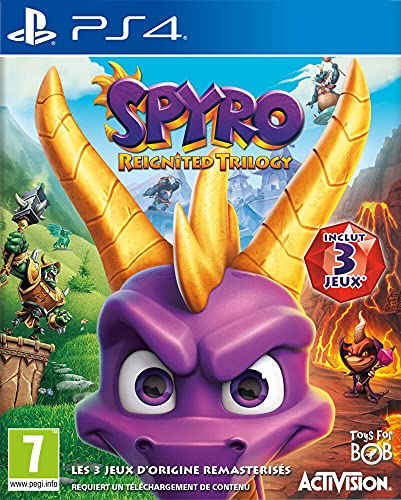 Spyro Reignited Trilogy - PlayStation 4 [Importación francesa]