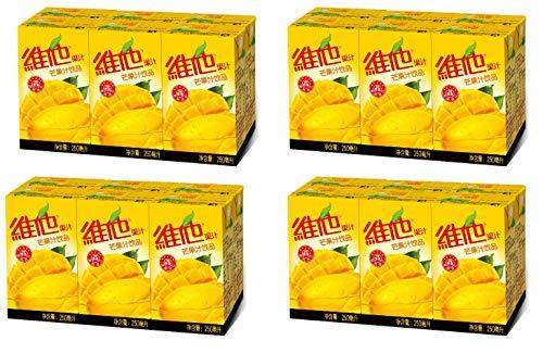 Vitasoy Vita Juice Drink, Mango Flavor, 8.45oz (Pack of 24)