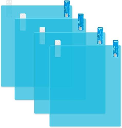 wholesale Larcele 4 Pieces online sale Rainproof Film lowest Anti-Glare Anti-Fog Sticker for Car Rearview Mirror QSFSM-01 (Rectangle,17.5x20cm/6.88x7.87inch) online