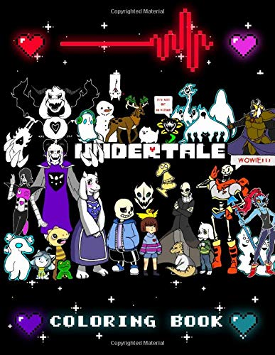 Undertale Coloring Book: Stress Relieving Adults Coloring Books! (Exclusive Illustrations)
