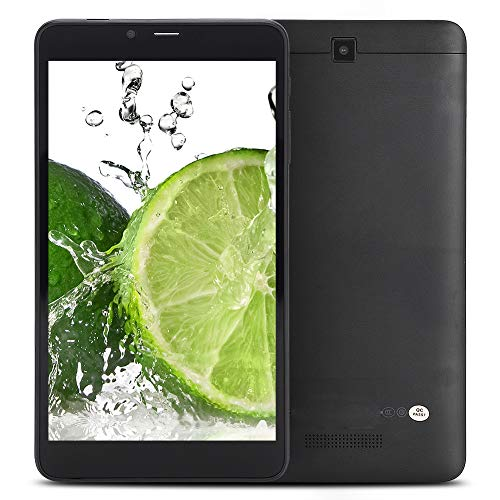 Pusokei 6.98in Tablet,1280x720 HD IPS Screen, Quad Core,2+16G Internal Storage,ARM-Cortex A53 GPU,HD Front/Rear Cameras, Support GPS FM for Android 9.0