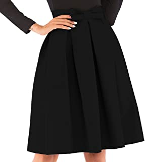 ae5c11c6b Amazon.es: Faldas Negras Elegantes - Plisada / Faldas / Mujer: Ropa