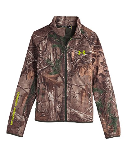 Under Armour Boys Coldgear Infrared Scent Control Jacket Realtree AP - Xtra / Velocity Medium