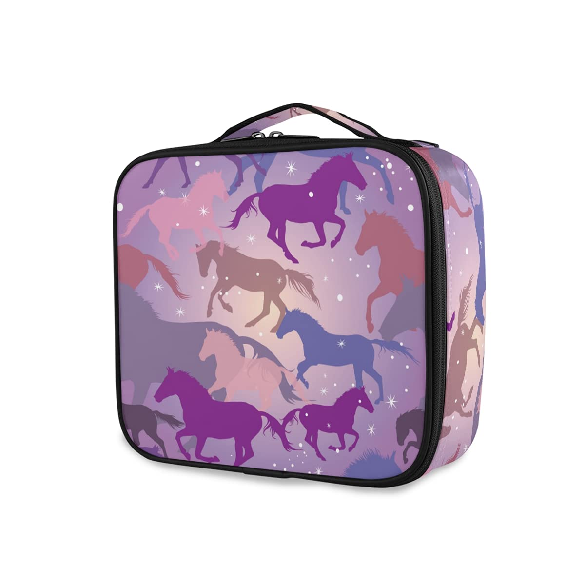 OTVEE Colorful Horse Limited Special Price Stars Cheap mail order specialty store Makeup Travel Large Bag Cosmetic