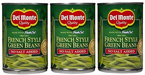 Del Monte No Salt Added Fresh Cut French Style Green Beans - 14.5 oz - 3 pk