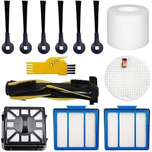 Kit de accesorios para Shark IQ R101AE (RV1001AE) IQ R101 (RV1001) Robot Aspirador Principal, Filtros, Cepillos Laterales