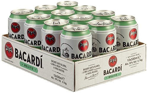 Bacardi Mojito, EINWEG, 12 x 330ml