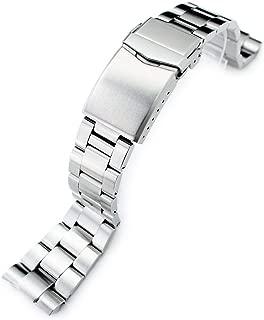 22mm Super Oyster Watch Bracelet for Seiko New Turtles SRP775 SRP777 SRP779, V-Clasp