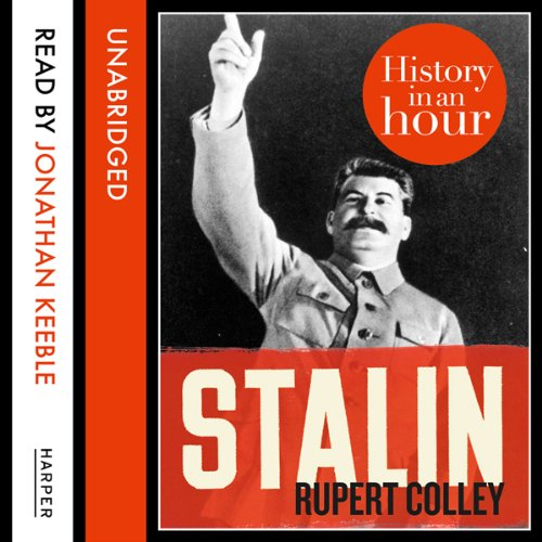 Stalin: History in an Hour audiobook cover art