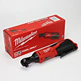 MILWAUKEE'S 2457-20 M12 Cordless 3/8' Lithium-Ion Ratchet (Bare Tool)