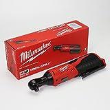 MILWAUKEE'S 2457-20 M12 Cordless 3/8' Lithium-Ion Ratchet (Bare Tool)