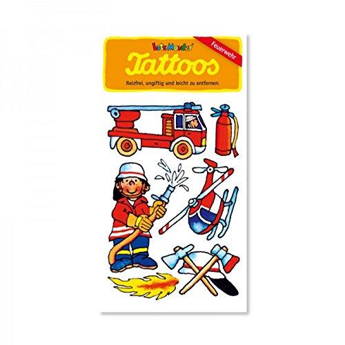 Lutz Mauder Lutz mauder44593Feuerwehr Benny Meister Tattoo (One Size)