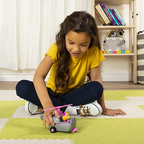 PAW Patrol Skye's Helicopter Vehicle with Collectible Figure, for Kids Aged 3 Years and Over