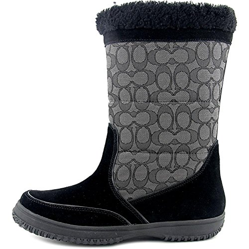 Coach Women's Sherman Signature Cold Weather Boot (6) Black