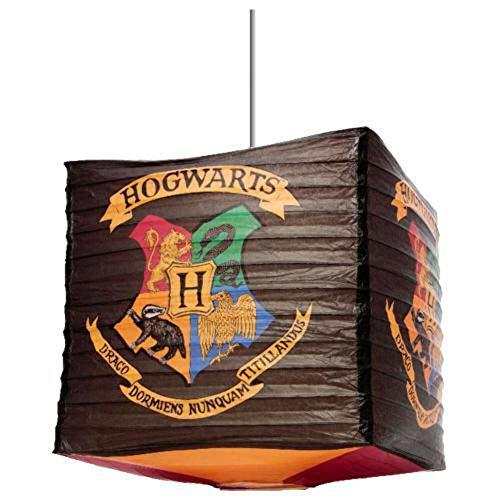 Official Warner Bros. Licoré Harry Potter Hogwarts Cube Paper Lightshade