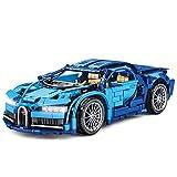 YYDE Juguetes de ensamblaje, Juguetes de construcción de Bugatti Veyron, Modelo de colección de Autos superportivos Super Sports, Conjunto de Edificios avanzados para niñas de 8+ años.
