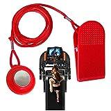 Quintina - Llave de seguridad para cinta de correr universal con imán de seguridad, reemplazo, apto para suela, Weslo, Weider, Epic, Healthrider