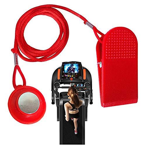 NNuodekeU Laufband Sicherheitsschlüssel, Universal Laufband Magnet Sicherheitsschloss Ersatz Fit für Sohle, Weslo, Weider, Epic, Healthrider