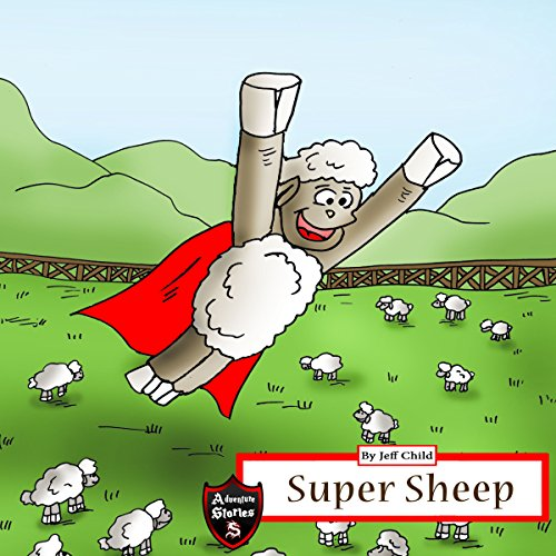 Super Sheep audiobook cover art