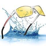 Men's HD Yellow Night Vision Goggles Driving...