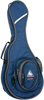 Boulder CB-320BL Alpine Deluxe F-Model Mandolin Gig Bag - Navy Blue