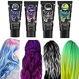 duhe189014 200ml 4 Farbset Farbwechsel Thermische Verfärbung Haarfarbe Temporäre schnelle...