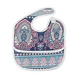 Indio Floral Diseño de Paisley Diseño Suave resistente al agua lavable...