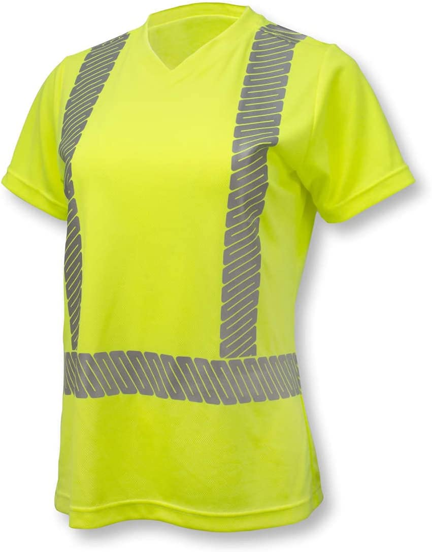 Finally resale start Radians ST11 Class 2 Fixed price for sale High Visibility with T-Shirt Women's Safety