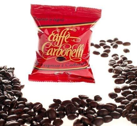 Caffè Carbonelli Miscela Forte - Confezione da 100 Capsule – Compatibile Lavazza Espresso Point