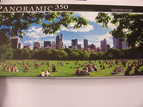 Panoramic 350 Piece Puzzle  Central Park, New York by Grünbrier
