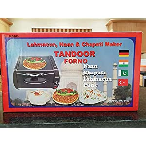 Table Top Tandoor Oven Lahmacun, Naan, Chapatti, Roti Maker 8