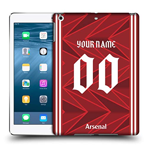 Head Case Designs Personalizzata Personale Arsenal FC in Casa 2020/21 Kit Cover Dura per Parte Posteriore Compatibile con Apple iPad Air (2013)