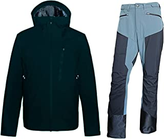 Performance Rain Shell Jacket Waterproof Breathable 15K/10K for Daily,Hiking,Skiing,Mountaineering