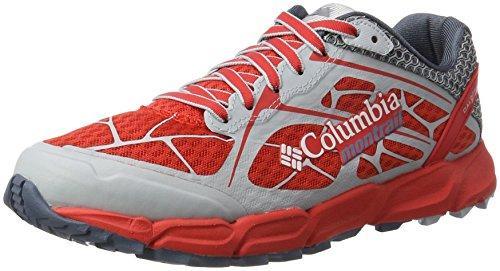 Columbia Caldorado Ii buty do biegania w terenie dziewczęce, Czerwony mak czerwona góra - 19 EU