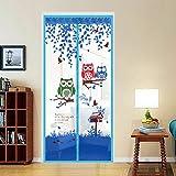 Verano imanes domésticos mosquiteras anti mosquiteros verano mosquiteros antideslumbrantes cortina magnética pantalla suave puerta pantalla puerta A2 W90xH210