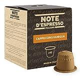 Note D'Espresso Preparato Solubile in Capsule per Bevanda al Gusto di Cappuccino e Vaniglia - 260 g (40 x 6.5 g) Esclusivamente Compatibili con le macchine per caffè a capsule Nespresso*