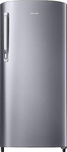 Renewed  Samsung 192 L 2 Star Direct Cool Single Door Refrigerator  Elective Silver  Refrigerators