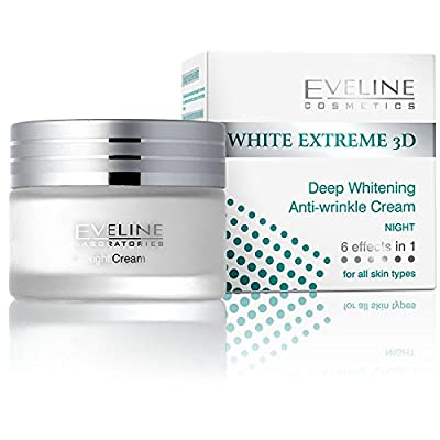 Eveline White Extreme 3D Deep Anti-Wrinkle Night Cream 50Ml by