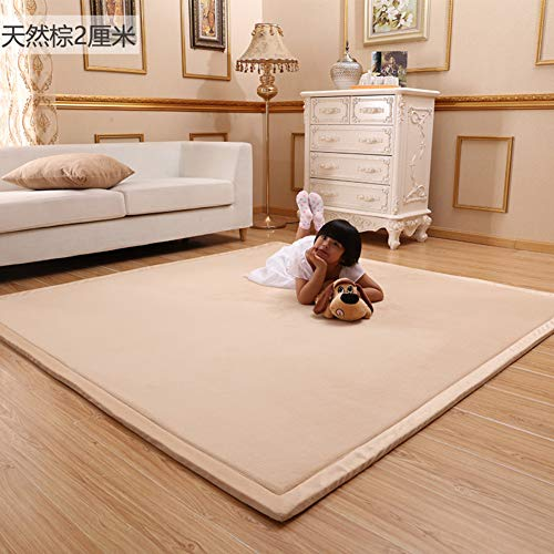 Purchase GGYDD Baby Play Mat Floor Mat,not-Slip Thicken Carpet,Memory Foam Soft Rug Yoga Mat Large T...