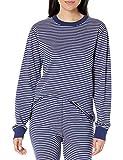 Organic Cotton Womens and Mens Pajama Top- Navy, Medium