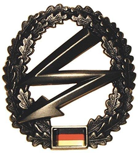 Bundeswehr Barettabzeichen BW Mützen Abzeichen Metallabzeichen Militärabzeichen Verschiedene Truppengattungen (Fernmeldetruppe)