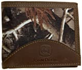 John Deere Men's Passcase Wallet In Gift Box, Camouflage, One Size
