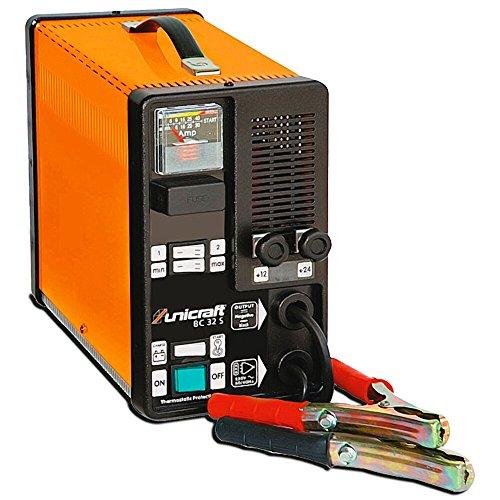 Stürmer Maschinen GmbH UNICRAFT BC 32 S tragbares Batterieladegerät Batteriestartgerät für Wet-Batterien