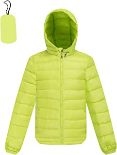 M2C Boys & Girls Ultralight Packable Down Bubble Jacket with Hood