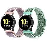 QULI Pulsera compatible con Samsung Galaxy Watch Active 2 44 mm...