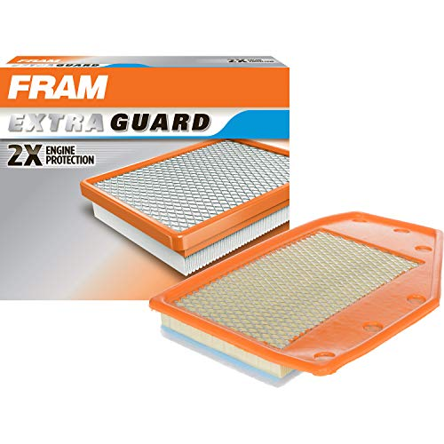 FRAM Extra Guard Air Filter, CA12085 for Select Buick and Chevrolet Vehicles