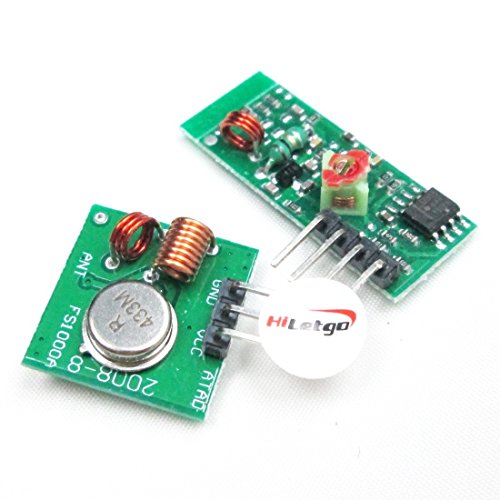 Newin Star 433MHz WL RF módulo emisor + Receptor a Distancia para Arduino/Arm/MCU Ask